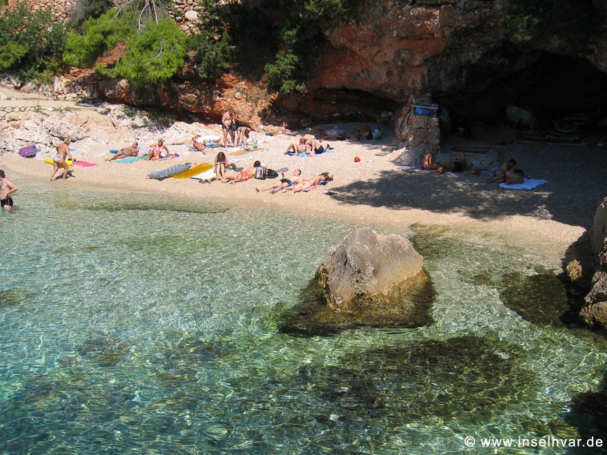 Hvar beach holiday rental