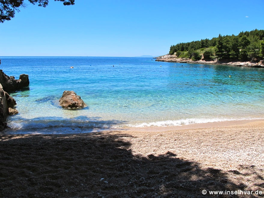 holiday rental Hvar beach