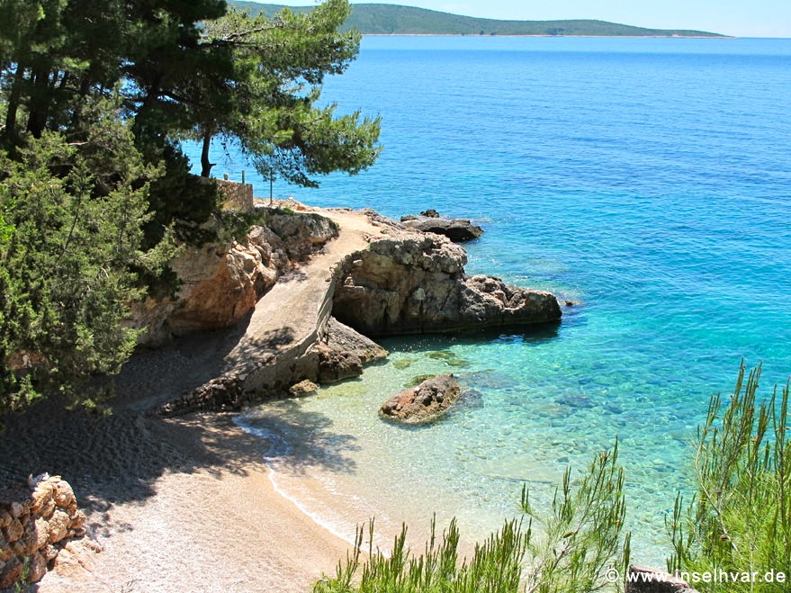 Island Hvar beaches