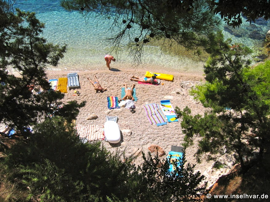 Dreamlike beach on Island Hvar